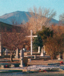 Cemetery with Cross