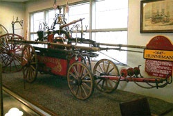 1847 Hunneman pumper, the first apparatus of Warren Engine Company No. 1.