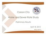 Water & Sewer Rate Study