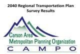 Regional Transportation Plan Survey Results
