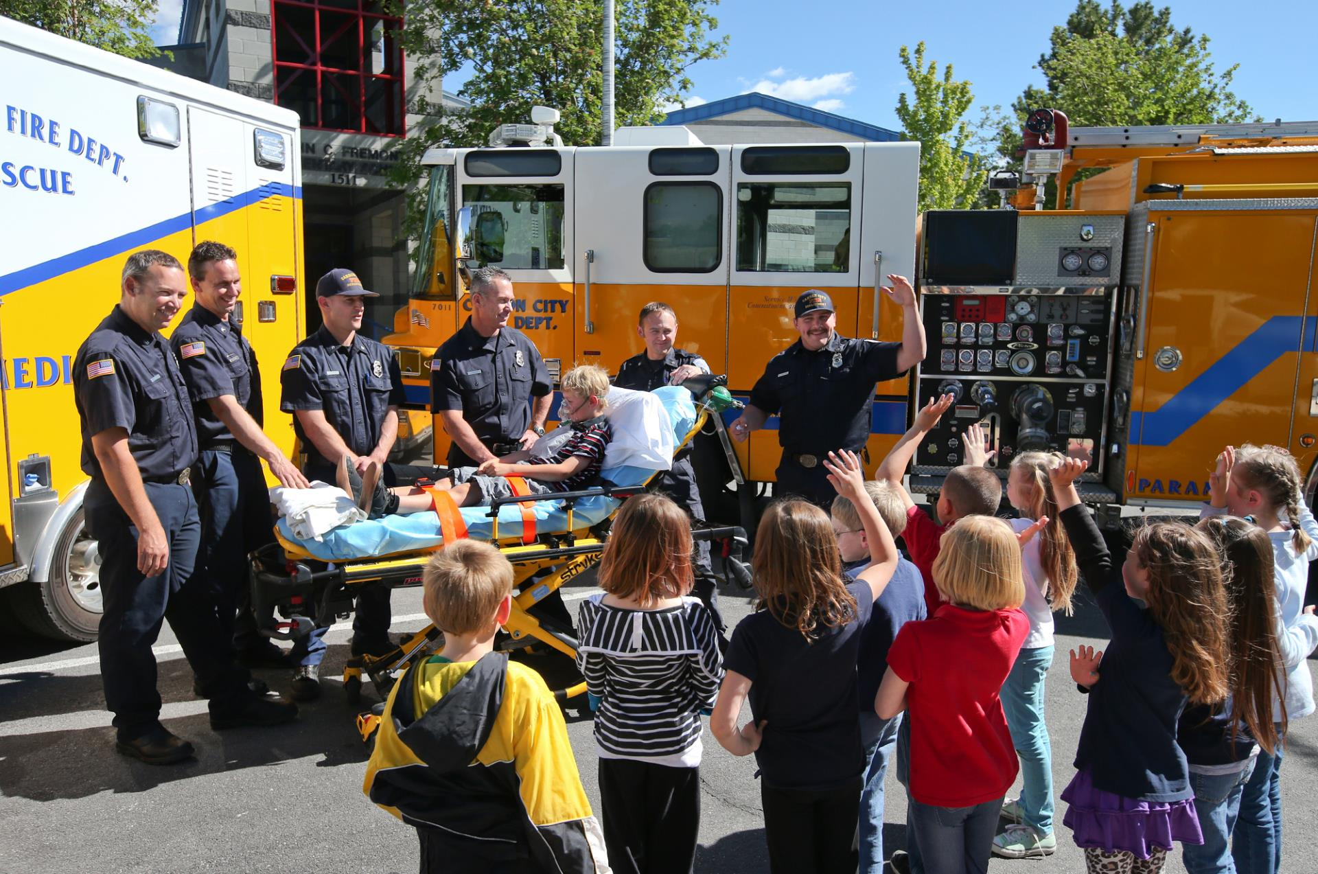 CCFD Provides Fire Safety Education