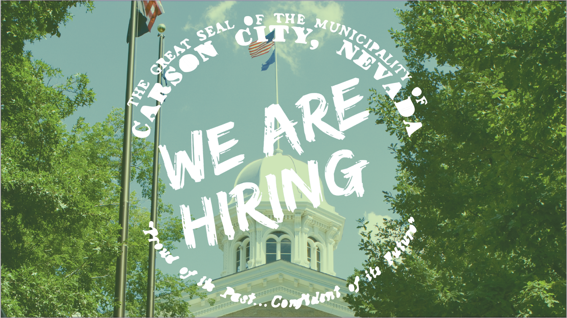 we are hiring with capitol building