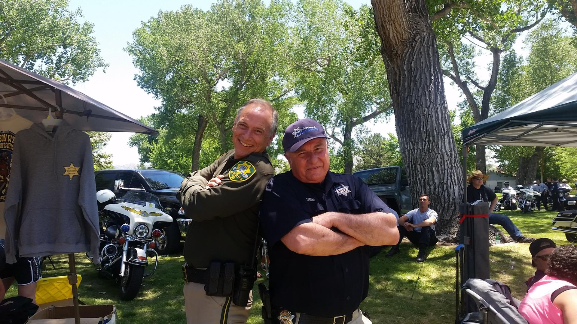 This year's Motor Challenge included competitors from Ontario Provincial Police, Nevada Department of Public Safety and Sheriff's Office Motor Unit.