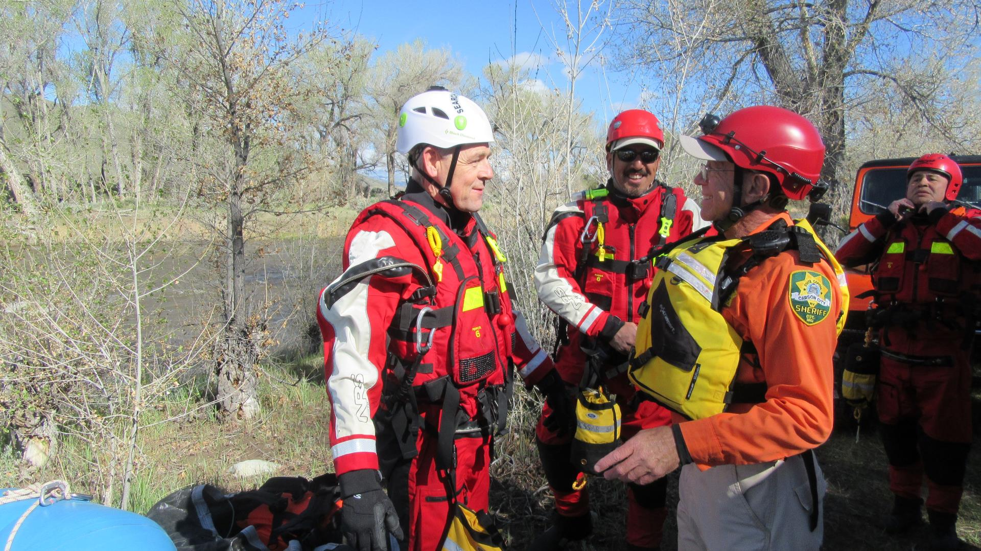 Carson City SAR - Swift Water Rescue Training