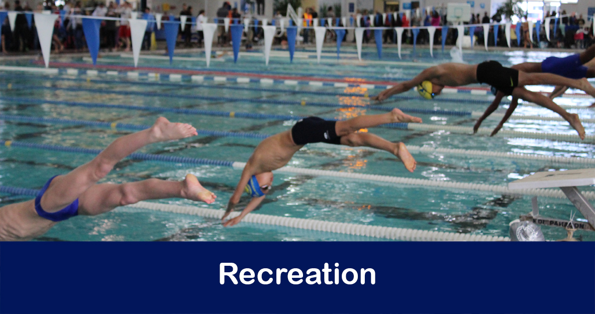 Aquatics, Sports, Youth Programs, Adaptive Programs, Adult Enrichment, Recreation Links