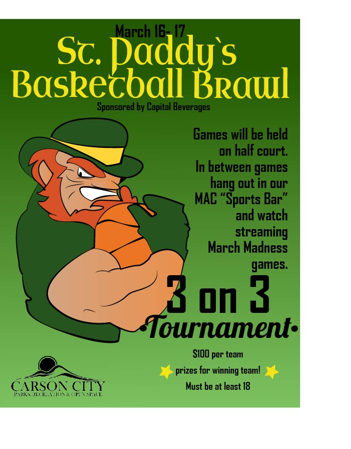 St Paddy's Basketball 3 on 3