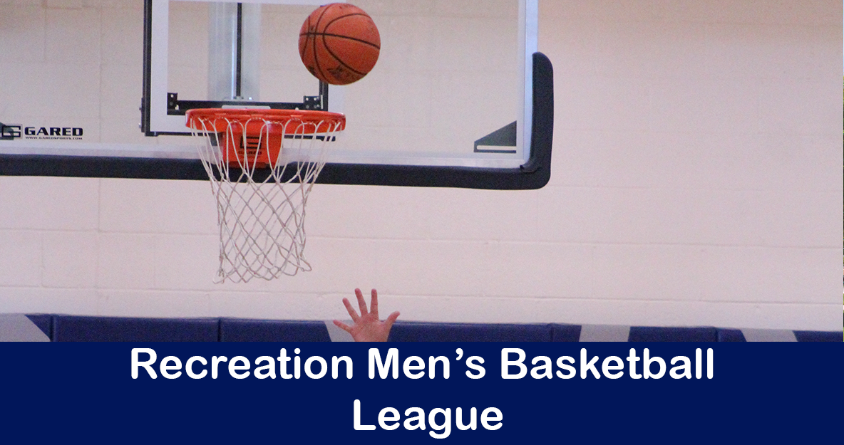 Recreation Mens Basketbal lLeague