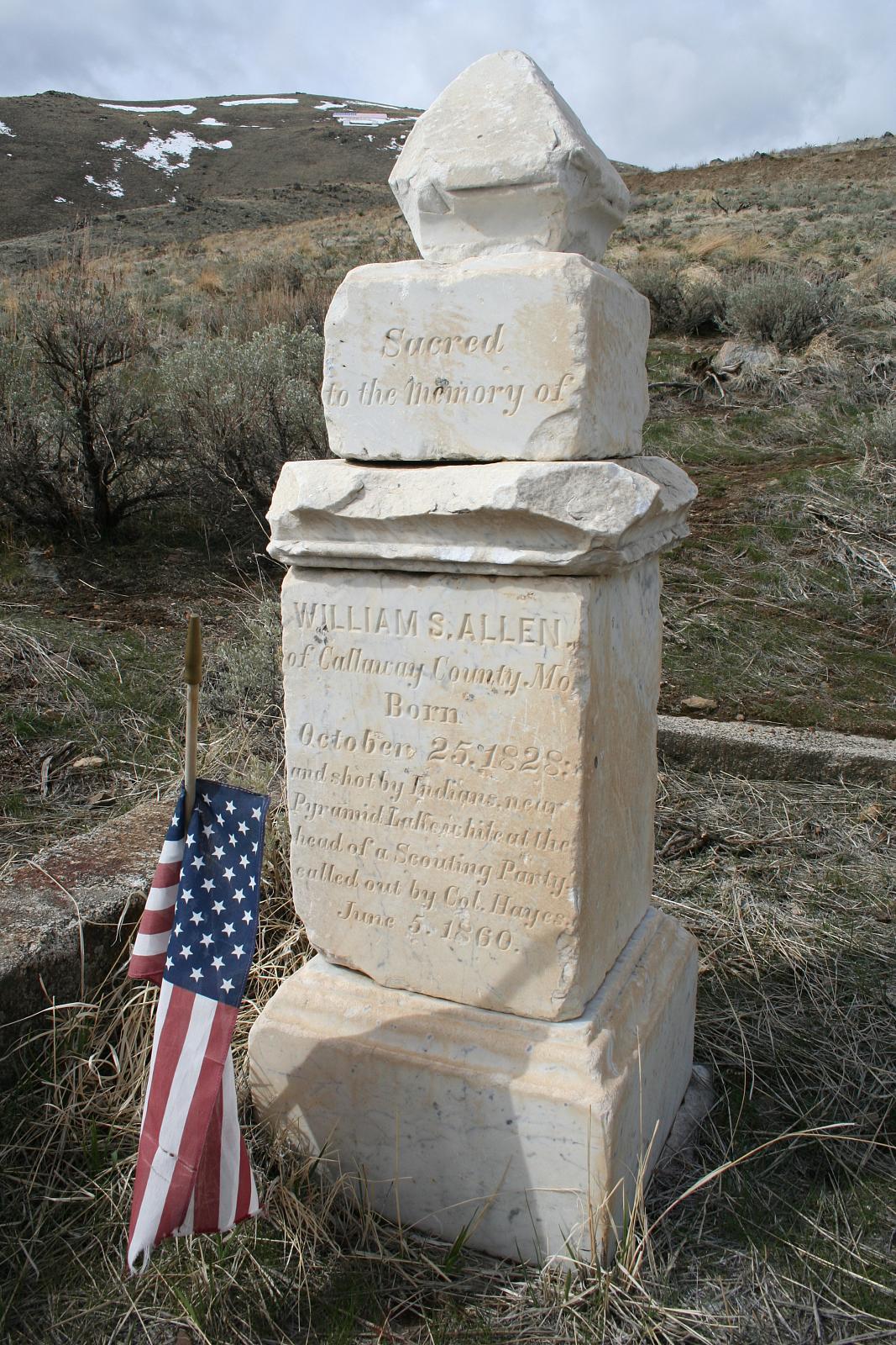 Pioneer Cemetery Grave