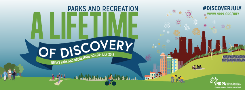 Banner NRPA Parks and Rec Month July