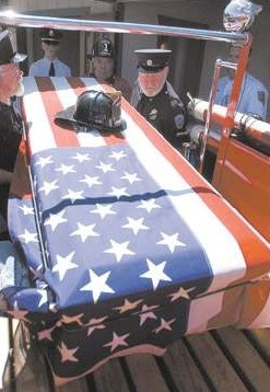 Click to enlarge - Dean Cheney laid to rest