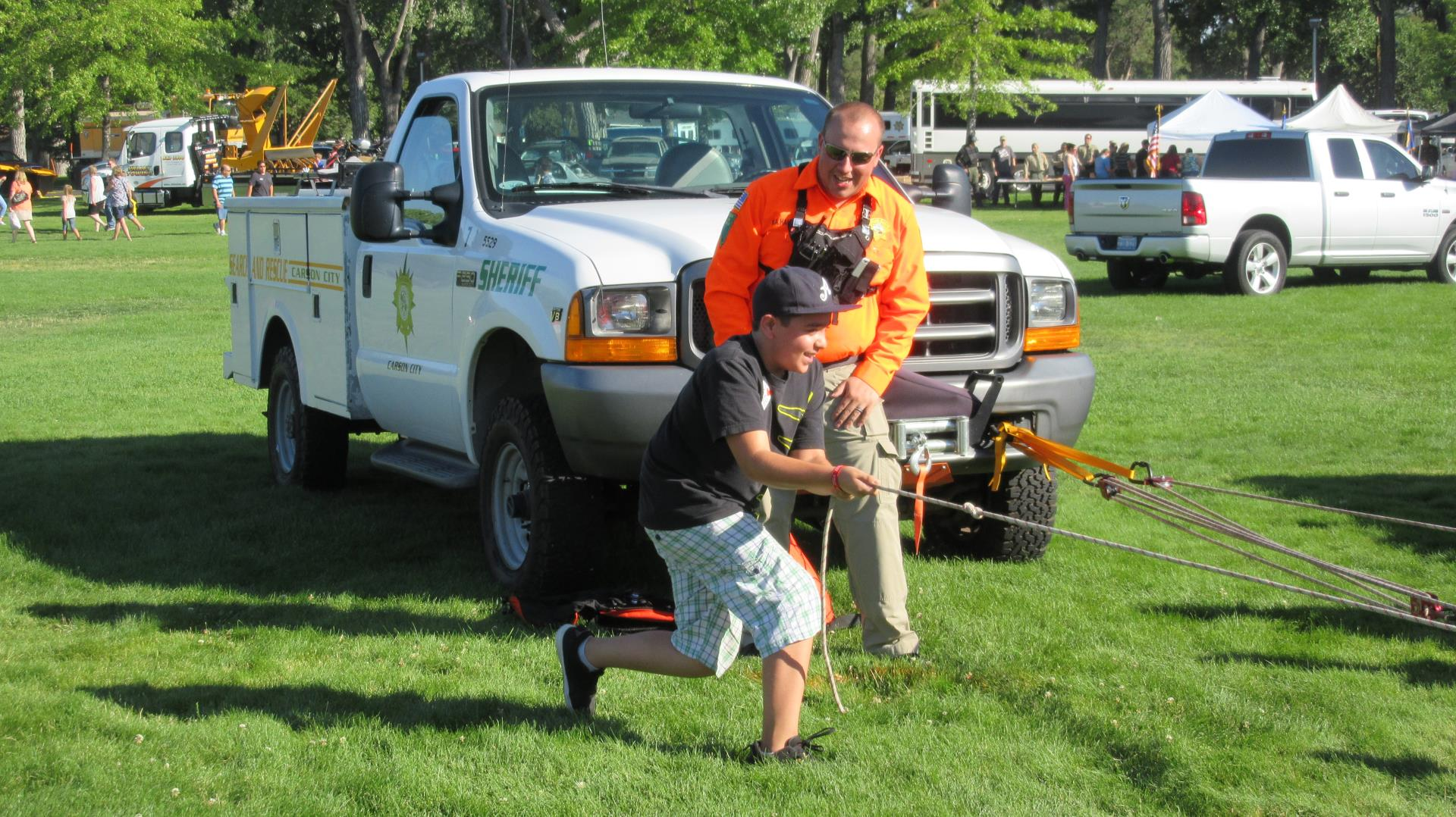 Carson City SAR - National Night Out 2016