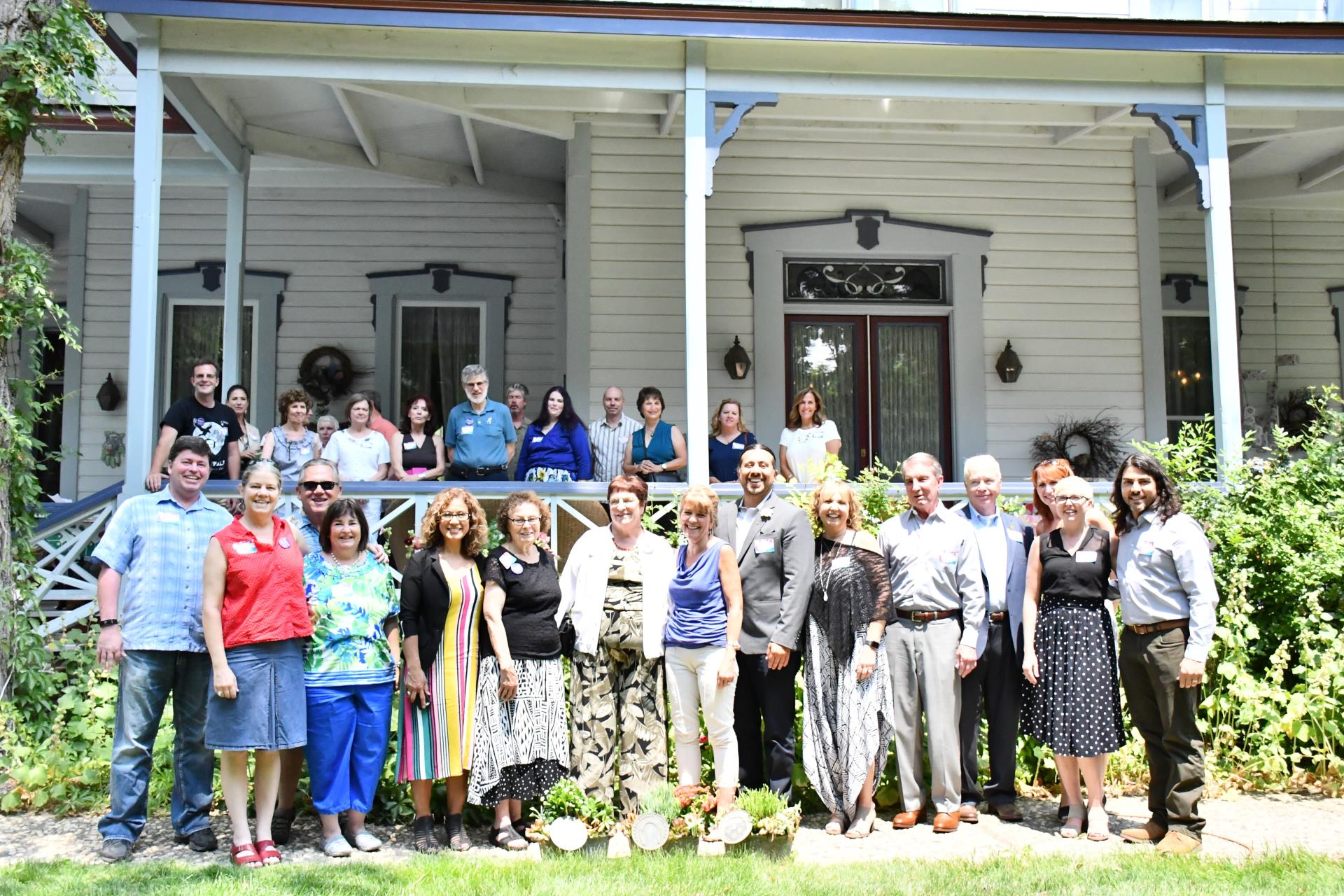 On July 20, 2018, nearly 50 members of the community gathered to celebrate the 10th Anniversary of the Carson City Cultural Commission at Bliss Mansion.