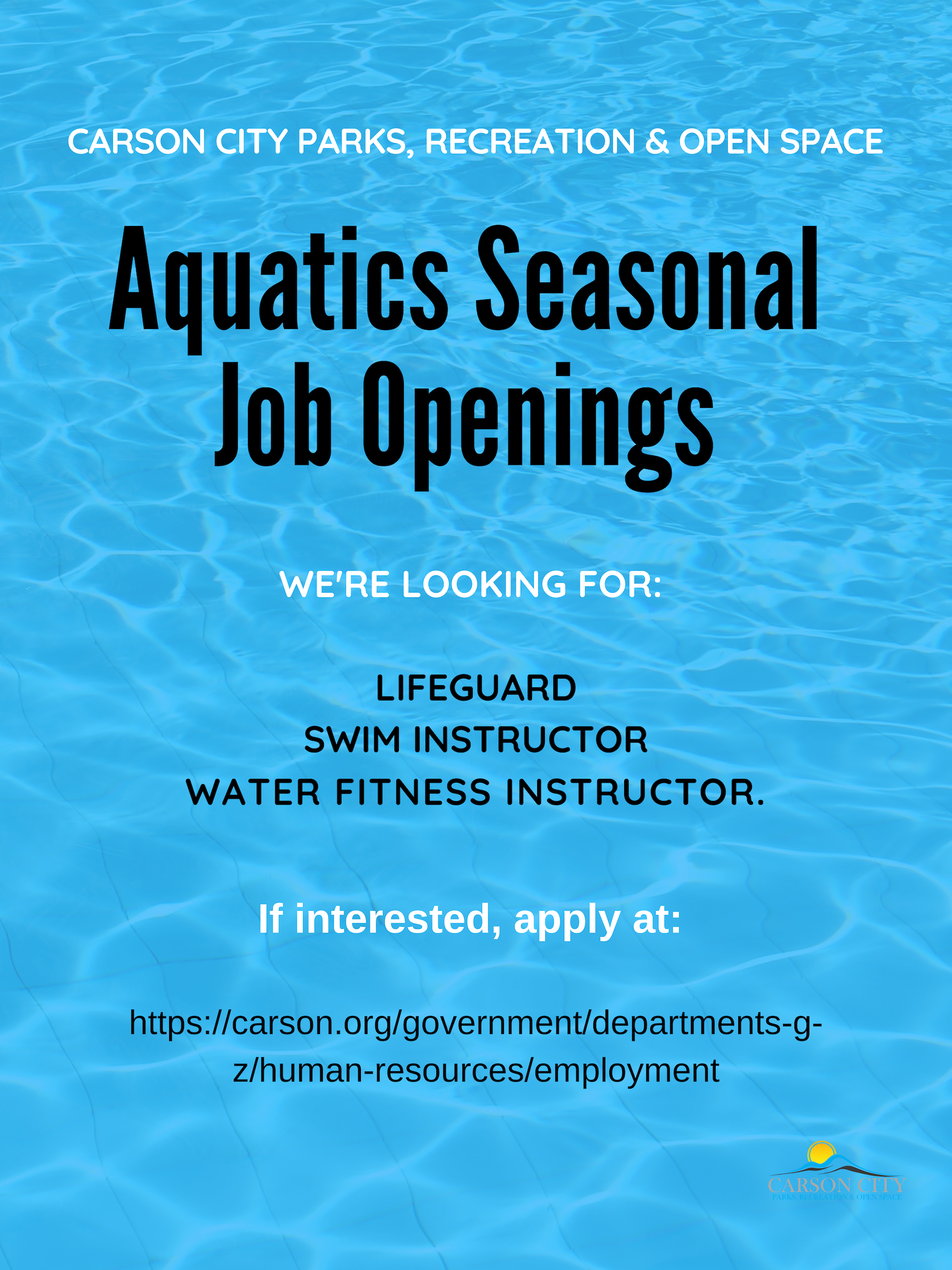 Aquatics Seasonal Positions