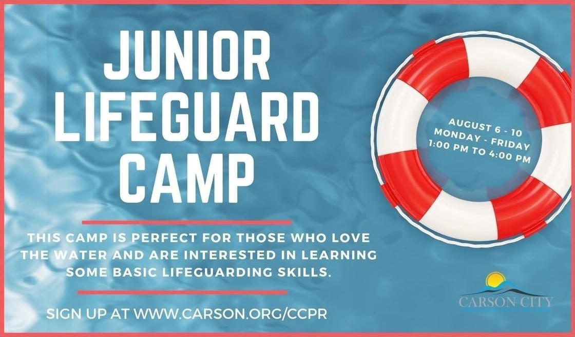 Junior Lifeguard Camp Poster