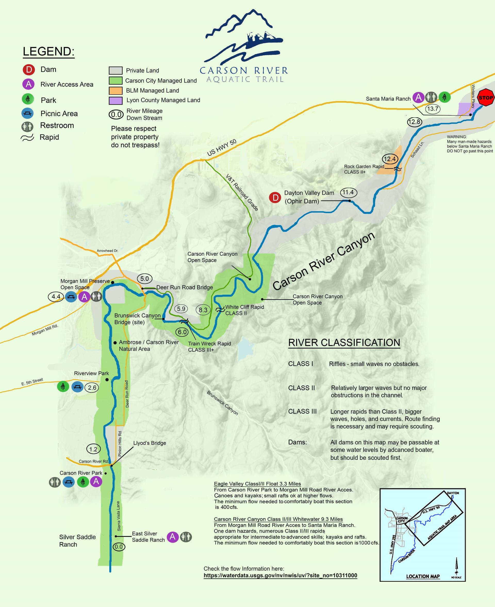 Aquatic Trail Map